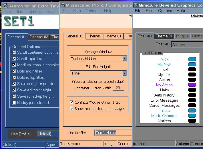 Tom Elmer's Configurator main page